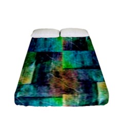 Abstract Square Wall Fitted Sheet (full/ Double Size) by Costasonlineshop