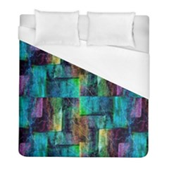 Abstract Square Wall Duvet Cover (full/ Double Size) by Costasonlineshop