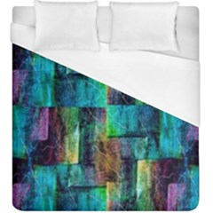 Abstract Square Wall Duvet Cover (king Size) by Costasonlineshop