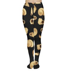 Shell Pattern Women s Tights