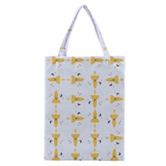 Spaceships Pattern Classic Tote Bag by linceazul