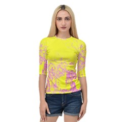 Colors Quarter Sleeve Tee