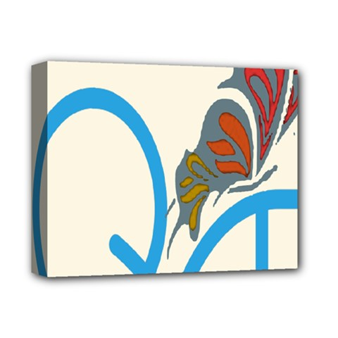 Butterfly Deluxe Canvas 14  X 11  by Mariart