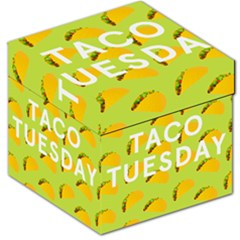 Bread Taco Tuesday Storage Stool 12   by Mariart