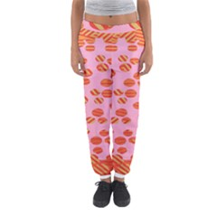 Distance Absence Sea Holes Polka Dot Line Circle Orange Chevron Wave Women s Jogger Sweatpants by Mariart