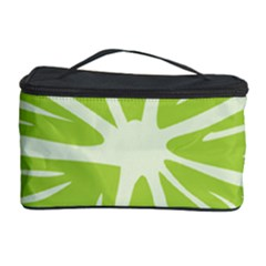 Gerald Lime Green Cosmetic Storage Case by Mariart