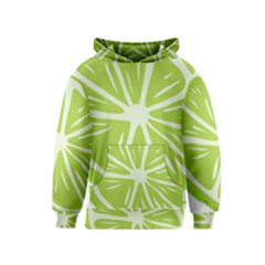Gerald Lime Green Kids  Pullover Hoodie