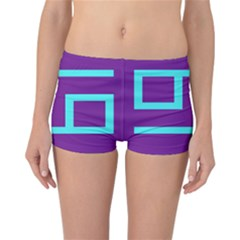 Illustrated Position Purple Blue Star Zodiac Reversible Bikini Bottoms by Mariart