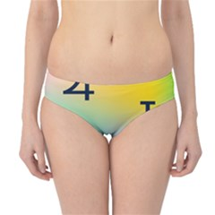 Illustrated Zodiac Star Hipster Bikini Bottoms