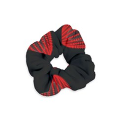 Normal Field Of An Elliptic Paraboloid Red Velvet Scrunchie by Mariart