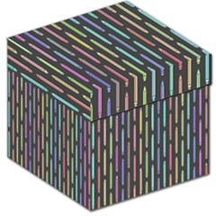 Pencil Stationery Rainbow Vertical Color Storage Stool 12   by Mariart
