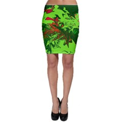 Colors Bodycon Skirt