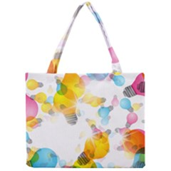 Lamp Color Rainbow Light Mini Tote Bag by Mariart