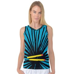 Match Cover Matches Women s Basketball Tank Top by Mariart
