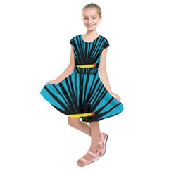Match Cover Matches Kids  Short Sleeve Dress by Mariart