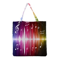 Music Data Science Line Grocery Tote Bag by Mariart