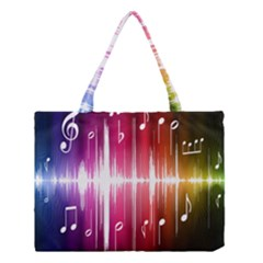 Music Data Science Line Medium Tote Bag by Mariart