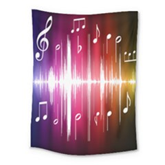 Music Data Science Line Medium Tapestry by Mariart