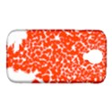 Red Spot Paint White Samsung Galaxy S4 Classic Hardshell Case (PC+Silicone) View1