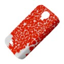 Red Spot Paint White Samsung Galaxy S4 Classic Hardshell Case (PC+Silicone) View4