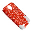 Red Spot Paint White Samsung Galaxy S4 Classic Hardshell Case (PC+Silicone) View5