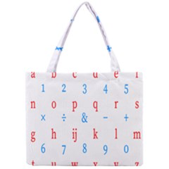 Source Serif Number Mini Tote Bag by Mariart