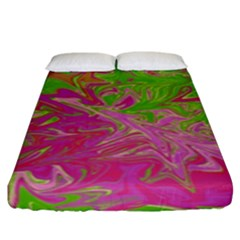 Colors Fitted Sheet (king Size)