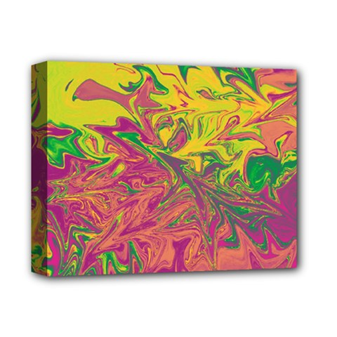 Colors Deluxe Canvas 14  X 11  by Valentinaart