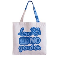 Love Knows No Gender Grocery Tote Bag by Valentinaart