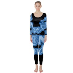 Love Knows No Gender Long Sleeve Catsuit
