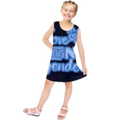Love Knows No Gender Kids  Tunic Dress by Valentinaart