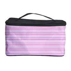 Lines Pattern Cosmetic Storage Case by Valentinaart