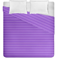 Lines Pattern Duvet Cover Double Side (king Size)