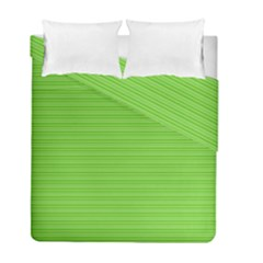 Lines Pattern Duvet Cover Double Side (full/ Double Size)