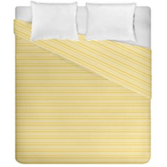 Lines Pattern Duvet Cover Double Side (california King Size)