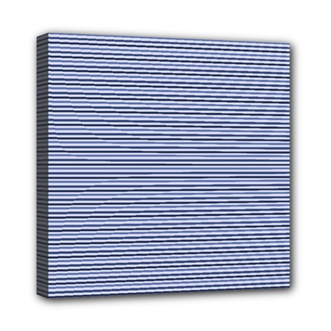 Lines Pattern Mini Canvas 8  X 8  by Valentinaart