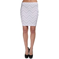 Zigzag  Pattern Bodycon Skirt