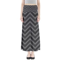 Zigzag  Pattern Maxi Skirts by Valentinaart