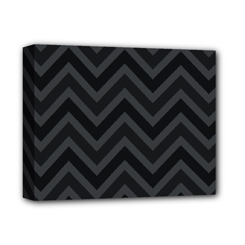 Zigzag  Pattern Deluxe Canvas 14  X 11