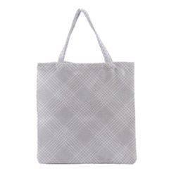 Zigzag  Pattern Grocery Tote Bag