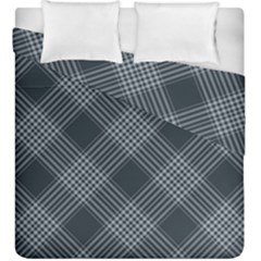 Zigzag Pattern Duvet Cover Double Side (king Size)