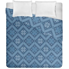 Pattern Duvet Cover Double Side (california King Size) by Valentinaart