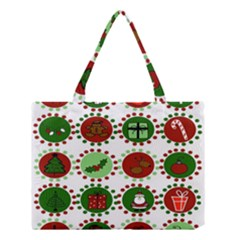 Christmas Medium Tote Bag by Mariart