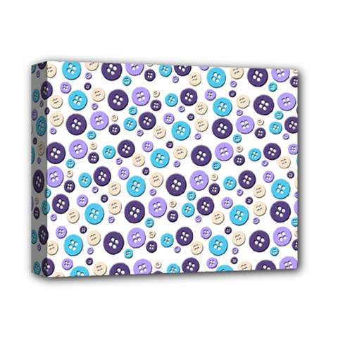 Buttons Chlotes Deluxe Canvas 14  X 11  by Mariart