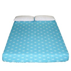 Dots Fitted Sheet (king Size)