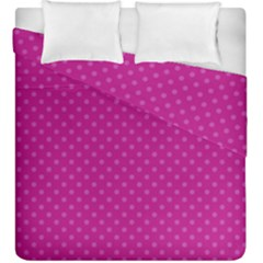Dots Duvet Cover Double Side (king Size)
