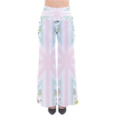 Frame Flower Floral Sunflower Line Pants