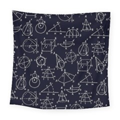 Geometry Geometry Formula Square Tapestry (large) by Mariart