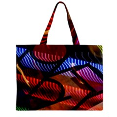 Graphic Shapes Experimental Rainbow Color Mini Tote Bag by Mariart