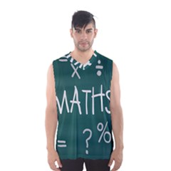 Maths School Multiplication Additional Shares Men s Basketball Tank Top by Mariart